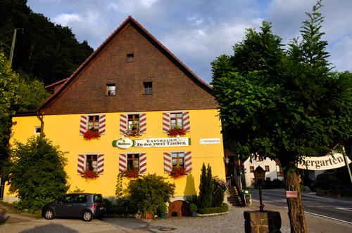 Gasthaus zu den zwei Tauben - Falkensteig im Hoellental